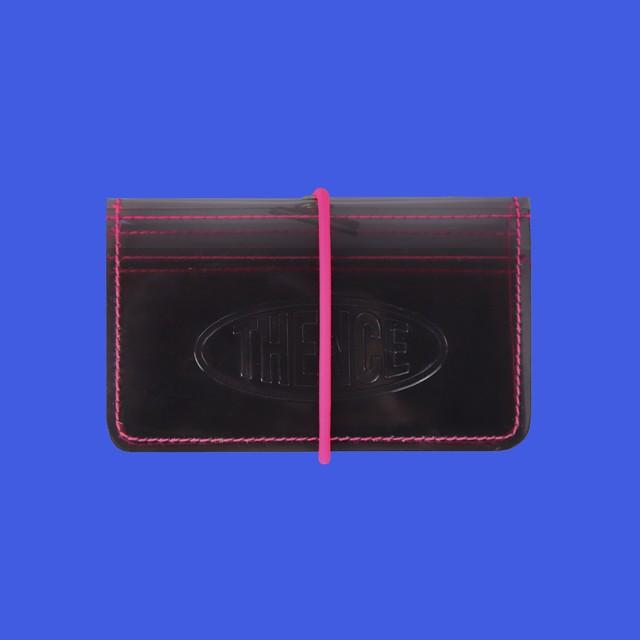 [PT-58]「CCN」ゴムバンド付きカード入れ ブラック