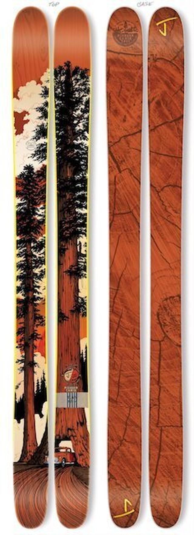 J skis - フレンド「パイオニアキャビン」アダム・ヘインズ x Jコラボ限定版スキー 【メーカー完売】