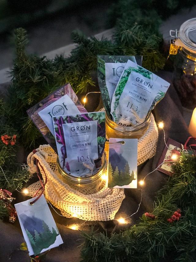 GRØN クリスマス ギフト (レッド / グリーン)