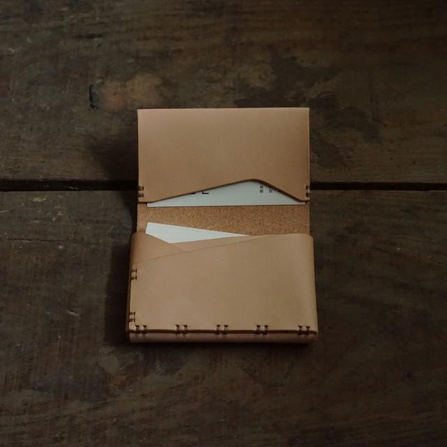 名刺 / カード入れ ヌメ