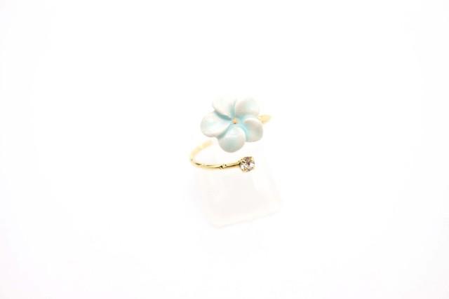 有田焼リング flower 5
