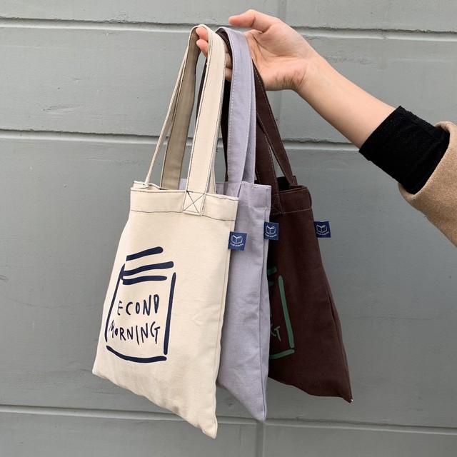 [sencond morning] book bag