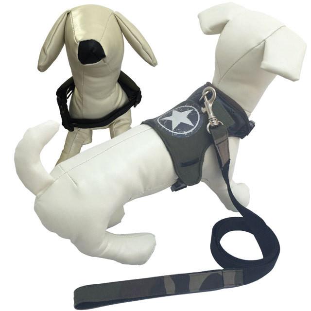 1。Bonchic Bonchien【正規輸入】XS 犬 ハーネス リード 星 秋 冬物