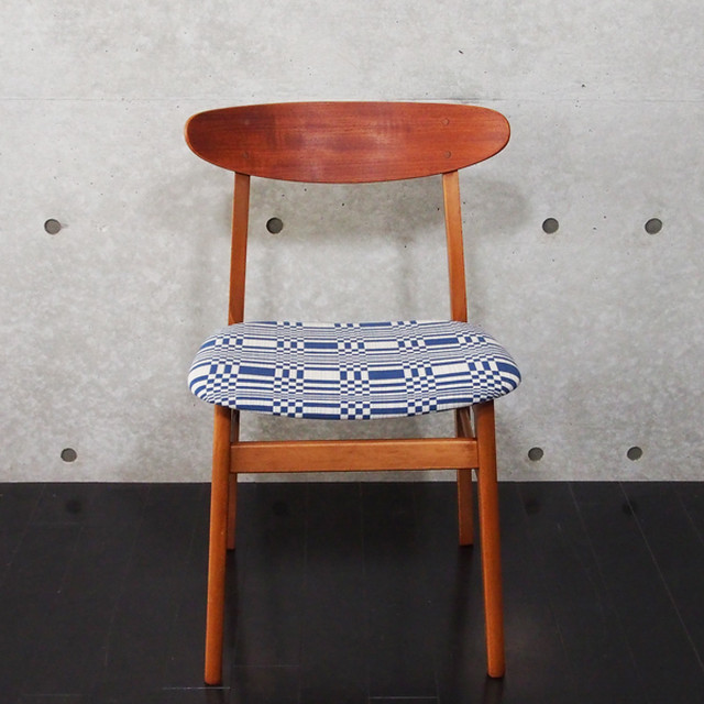 北欧ヴィンテージ Chair Johanna Gullichsen Doris Dark Blue 1
