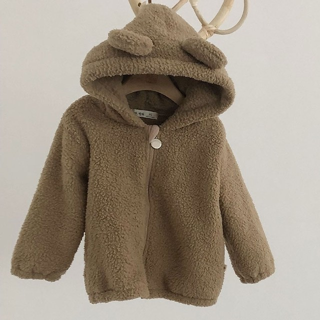 *即納 lala bear warm outer