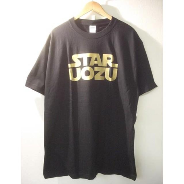 STAR UOZU Tシャツ【2XL】ブラック×ゴールド