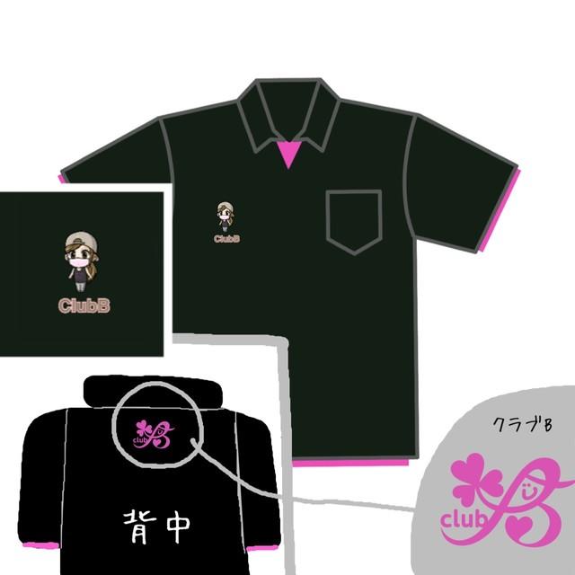 【ClubB】半袖ポロシャツ