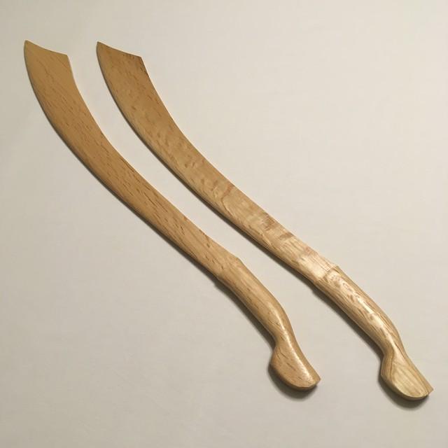 シラット pedang木刀