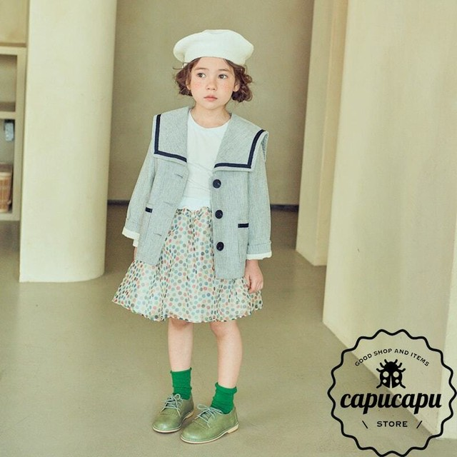 [sold out] Sailor collar spring jacket 2Colors  セーラーカラージャケット 春 アウター