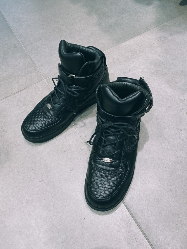 (AC097)NIKE Air Force 1 high lux made in Italy