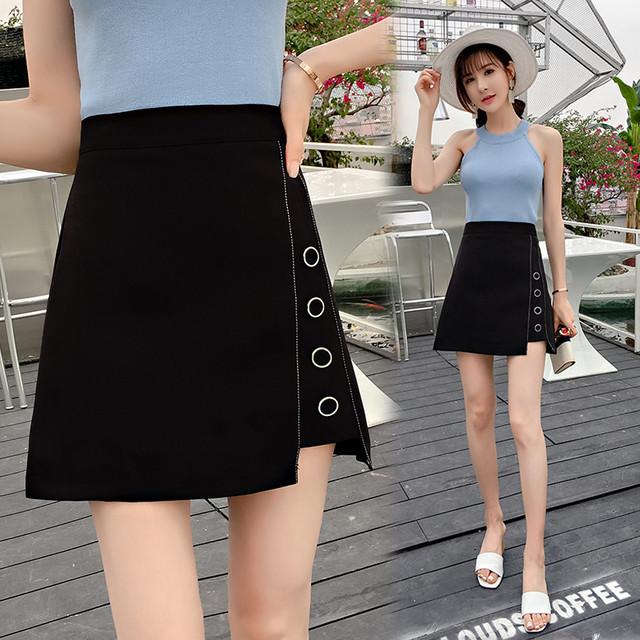 【bottoms】イレギュラーAライン着やせ綺麗めスカート 23896361