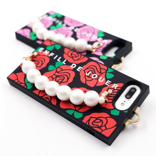 ROSE & PEARL for iPhone8/7/6s/6 Plusケース
