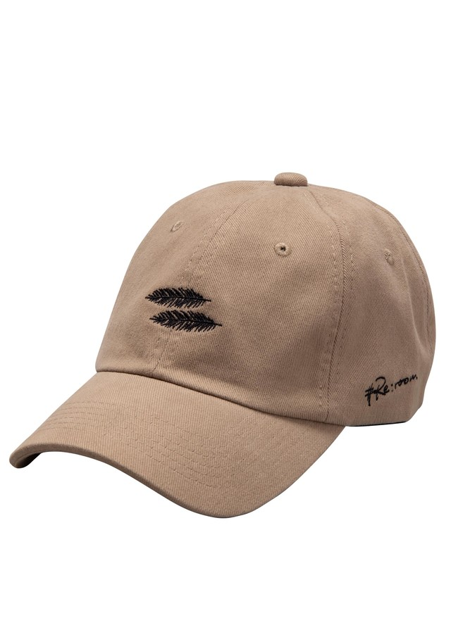 PALM REAF LOGO COTTON CAP[REH067]