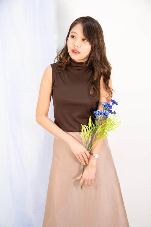 long satin skirt