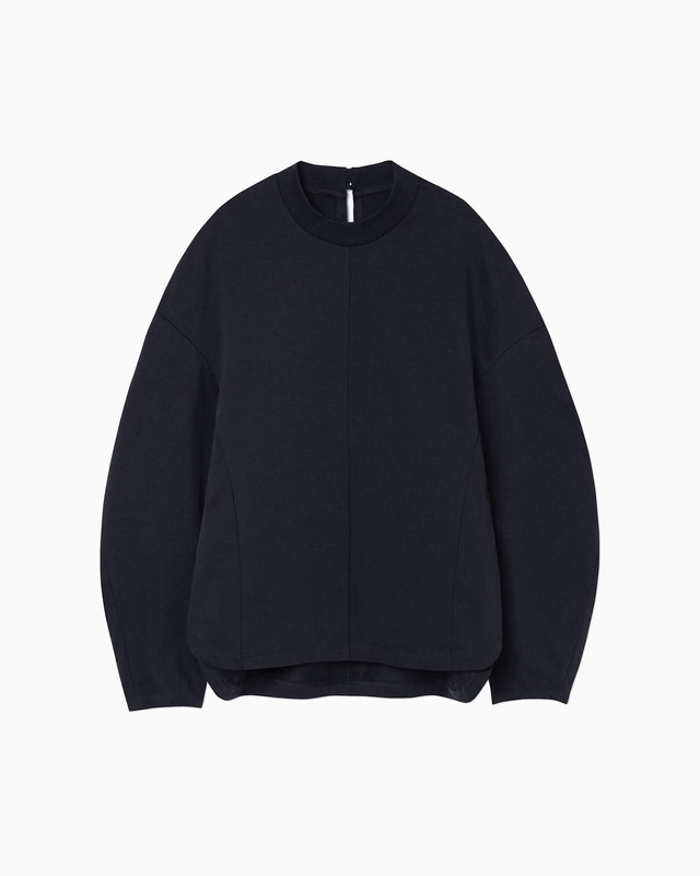 【Mame Kurogouchi】Cotton Jersey Pullover  MM21PF-JS722