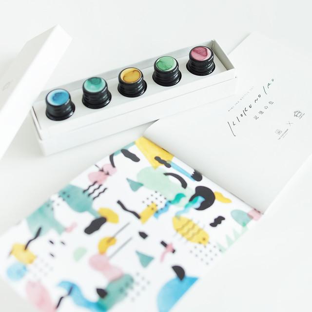 【限定生産】KIOKU NO IRO(記憶の色)MINI INK BOTTLE SET