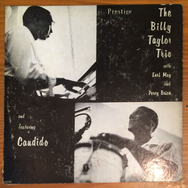 "●THE BILLY TAYLOR TRIO feat CANDIDO  (10"")"