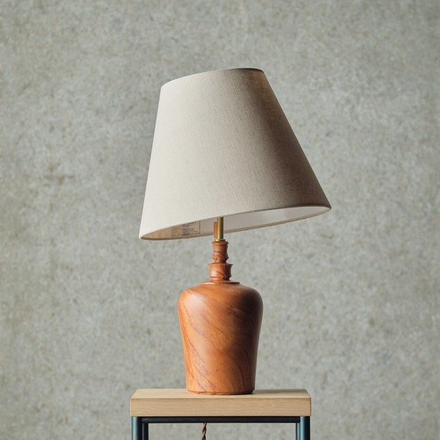 燈台 / Table Lamp-027 / 欅