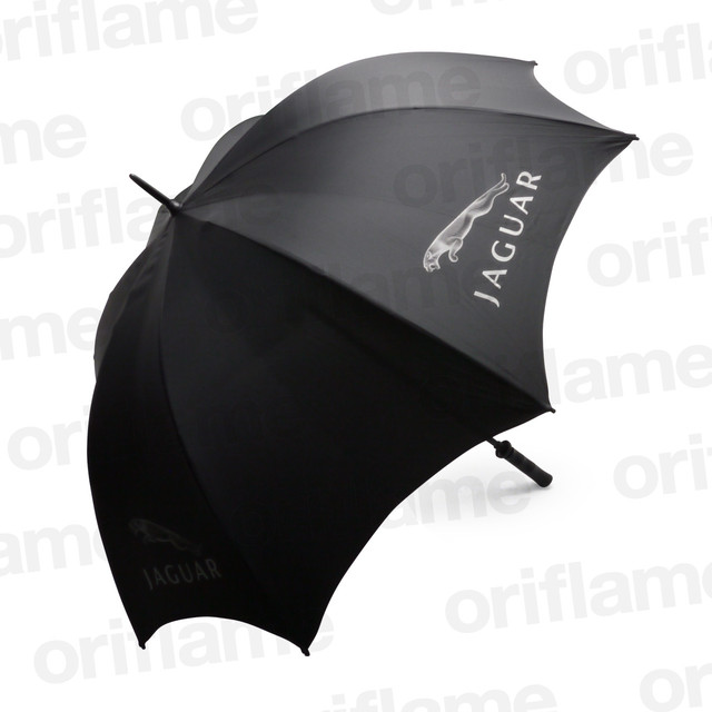 傘・ジャガー・プラスチックグリップ・ブラック
