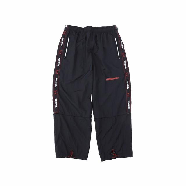 MYne × BADBOY Track pants / BLACK - メイン画像