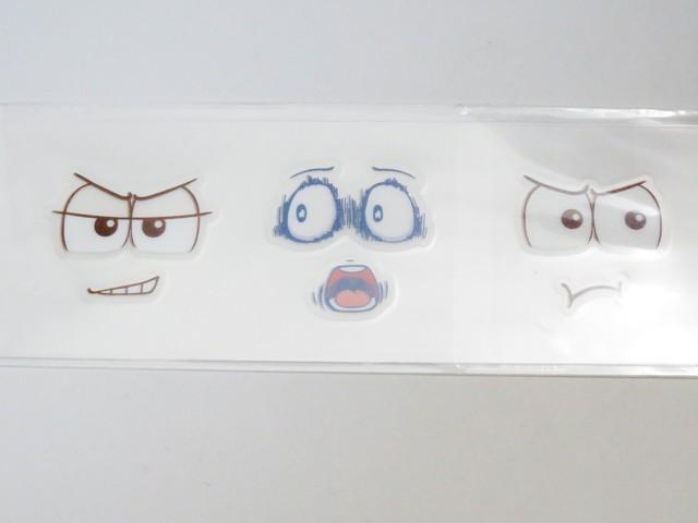 【649】 松野トド松 小物パーツ 表情シール ねんどろいど
