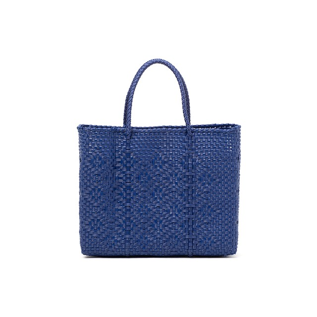 MERCADO BAG ROMBO-Navy(XS)