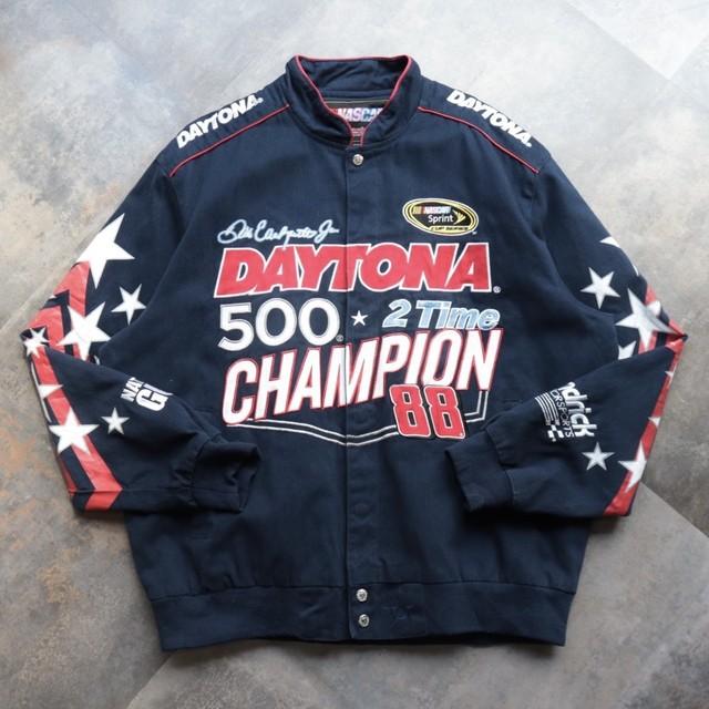 Racing embroidery jacket