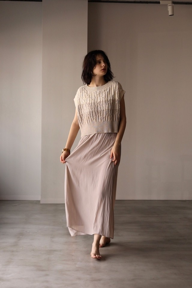 NICENICE MOMENT KNIT DRESS