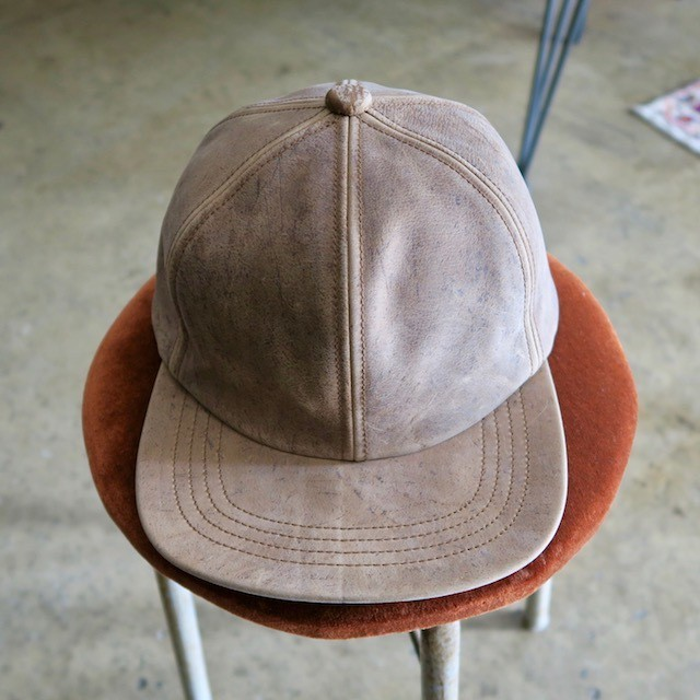 Anchor Bridge × morno  KUDU LEATHER CAP