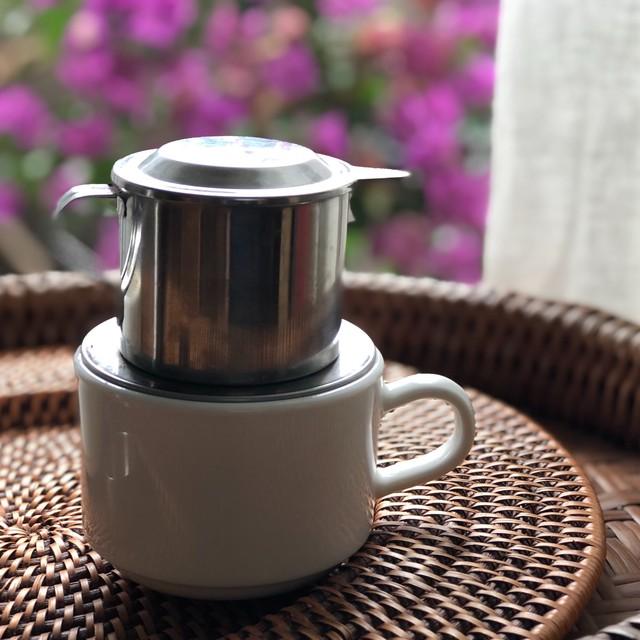 ベトナム コーヒー フィルター ステンレス製