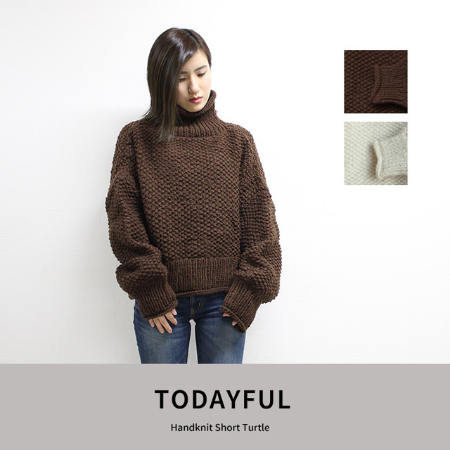 TODAYFUL | Handknit Short Turtle  11820516