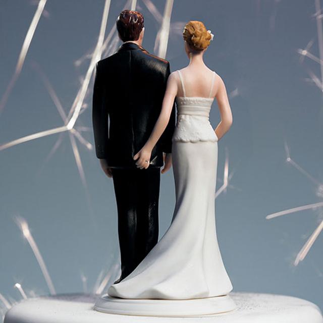 【お取り寄せ】ケーキトッパー【面白編】お尻をつねる花嫁