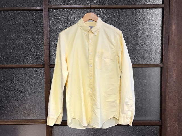 J.CREW SLIM COTTON OXFORD SHIRT (YELLOW)
