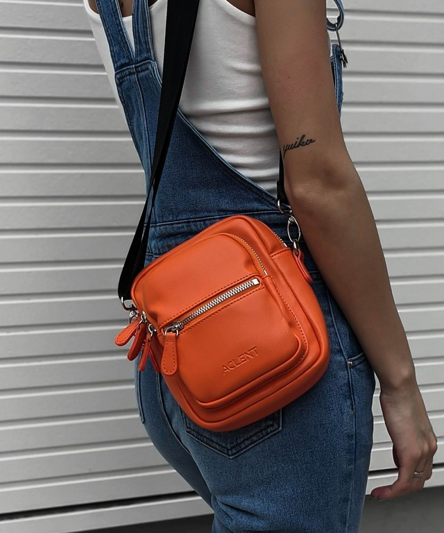 Fake leather mini bag