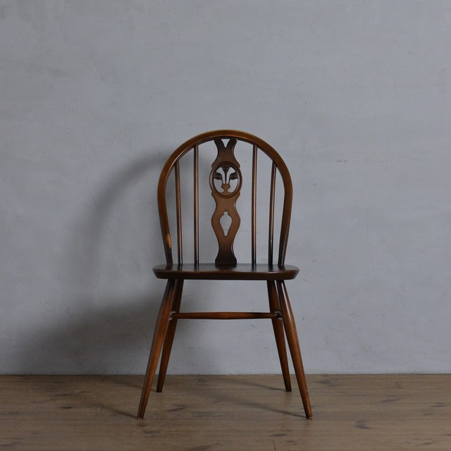 Ercol Thistleback Chair 【A】 / アーコール シスルバック チェア 〈ダイニングチェア・デスクチェア・椅子・コロニアル〉