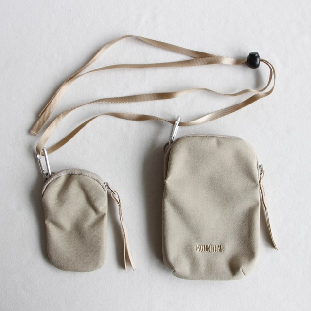 《MOUNTEN. 2021SS》mini porch / beige