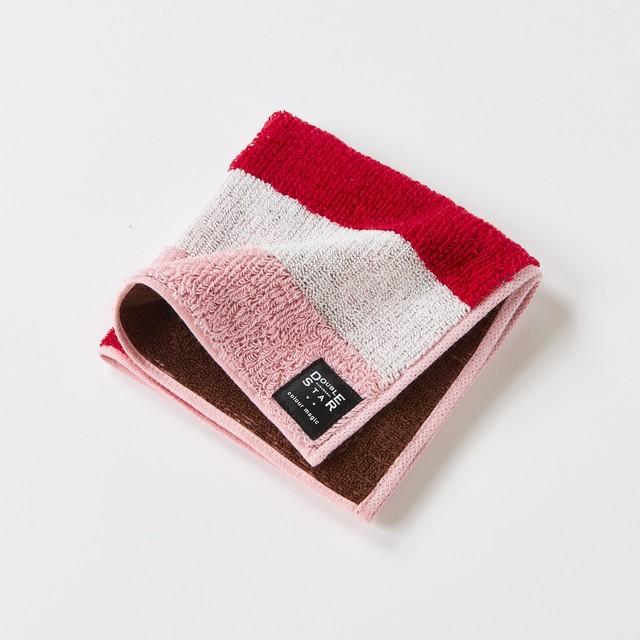 colour magicベリームース タオルハンカチ/ピンク