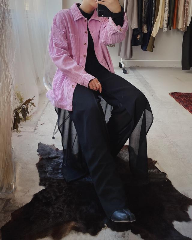 L.L.Bean vintage corduroy shirt jacket