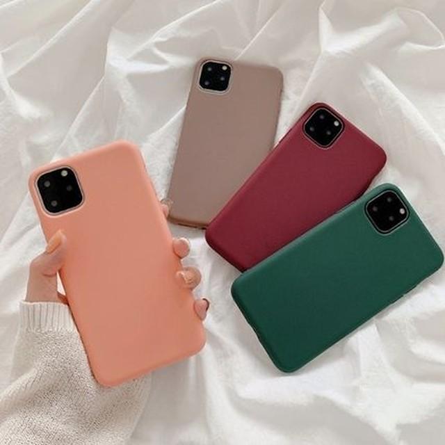 iPhone 無地 プレーン 6 7 8 Plus XsMax XR 11 11Pro 11ProMax