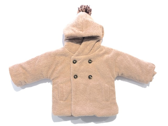 【19AW】ワンモアインザファミリー (1 + in the family) - JACKET(HALIFAX)rose/12m・24m・48m