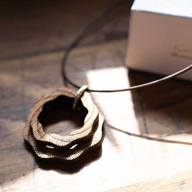 whirlpool / 渦潮(Necklace)