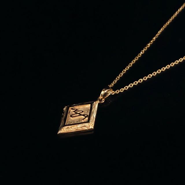 24kgp Hawaiian jewelry diamond (MAR logo)