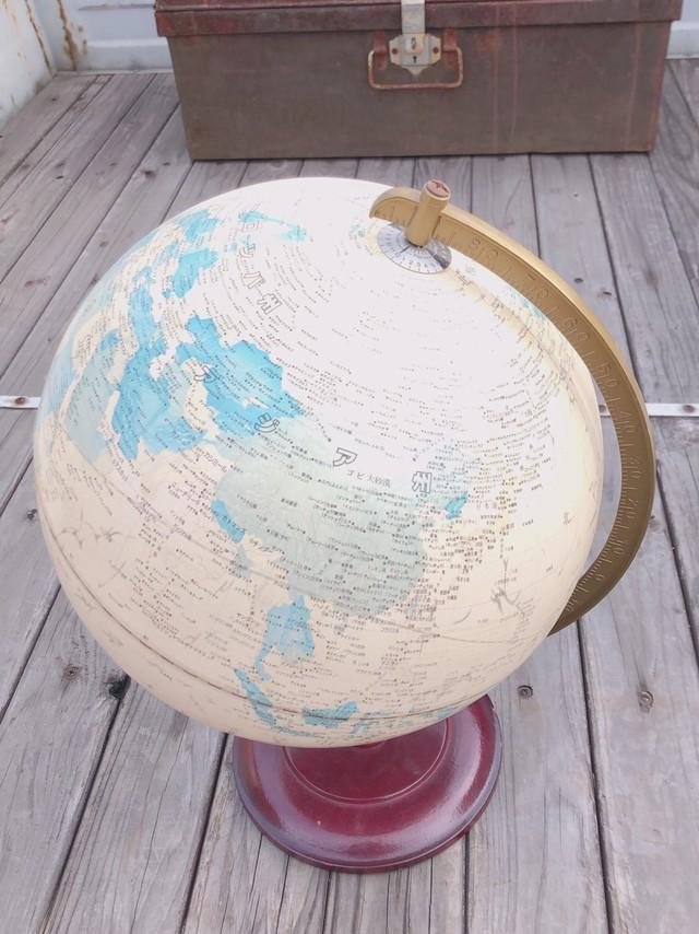 レトロ 地球儀