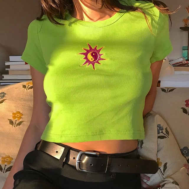 陰陽タイトシャツ(全2色) / HWG241