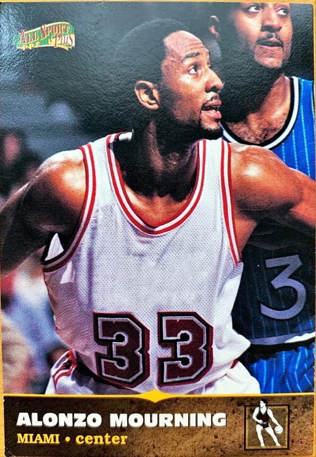 NBAカード 96-97SCOREBOARD Alonzo Mourning #102 HEAT