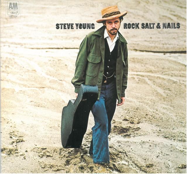 STEVE YOUNG / ROCK SALT & NAILS (LP) 日本盤