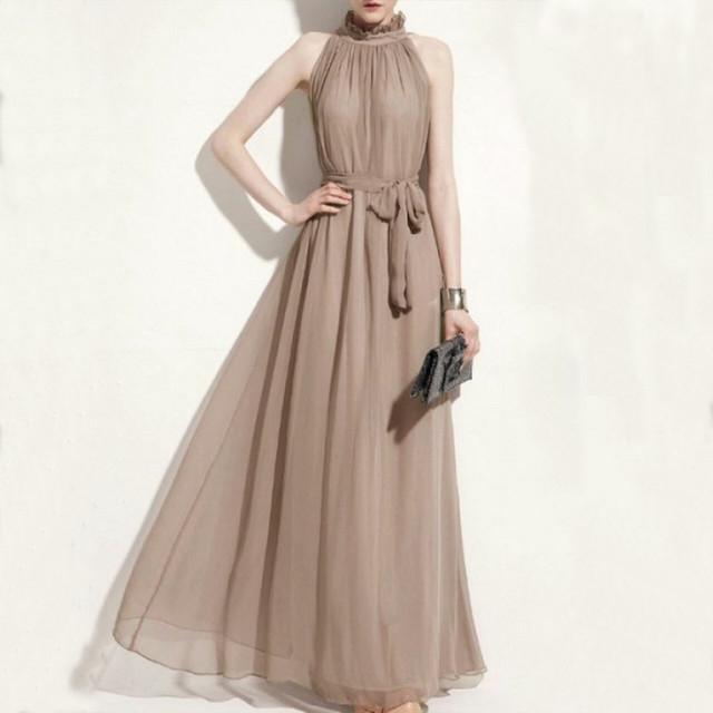 【dress】Lace ribbon decoration thin party dress