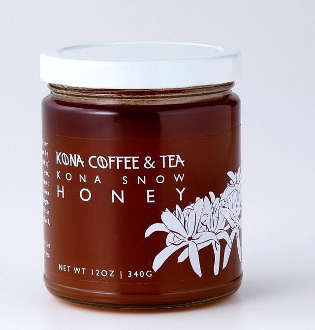 KONA COFFEE & TEA ESTATE HONEY- KONA SNOW (LIMITED) 12oz.《340g》