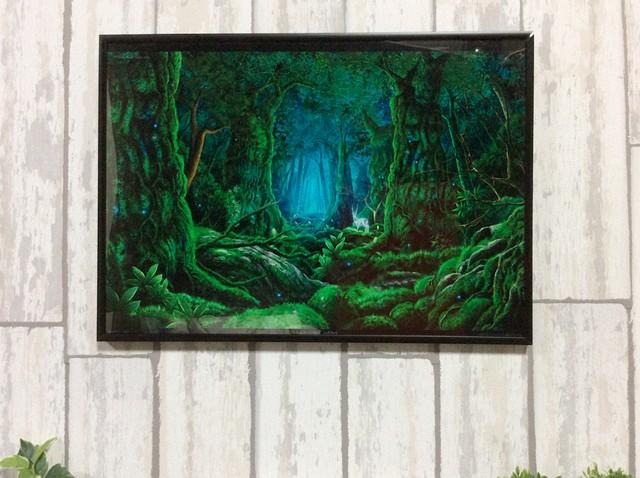 【A3サイズ】森の中で・・・2014
