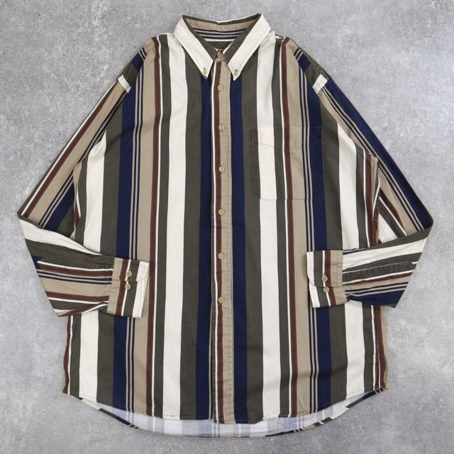 retro mulch stripe shirt